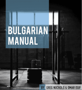 Bulgarian Powerlifting by Greg Knuckols and Omar Isuf
