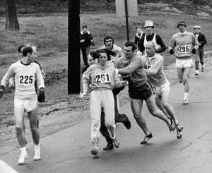 Women in Sport: Being Pulled from the Marathon Course