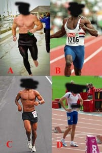 Sprinters vs. Marathoners Collage